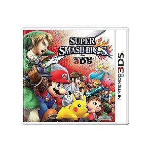 Super Smash Bros For Nintendo 3DS - Usado - 3DS
