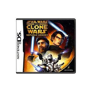 Star Wars: The Clone Wars: Republic Heroes - Usado - DS