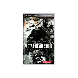 Metal Gear Solid Peace Walker - Usado - PSP