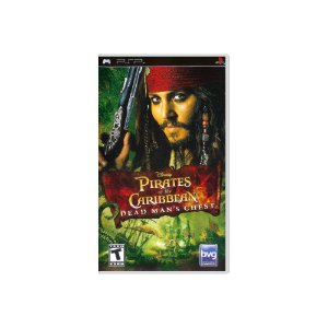 Pirates of The Caribbean Dead Man's Chest - Usado - PSP