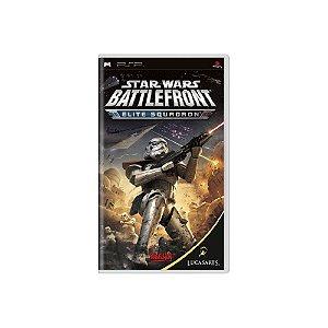 Star Wars Battlefront Elite Squadron - Usado - PSP