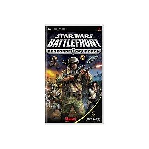 Star Wars Battlefront Renegade Squadron - Usado - PSP