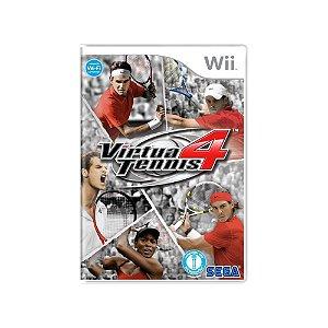 Virtua Tennis 4 - Usado - Wii