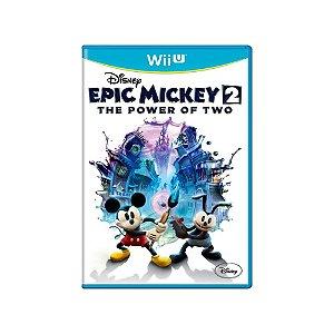 Disney Epic Mickey 2 The Power of Two - Usado - Wii U