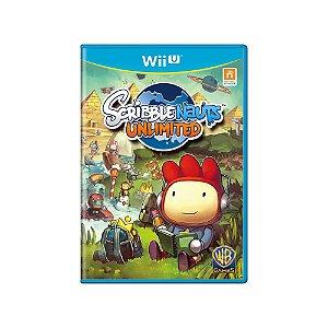Scribblenauts Unlimited - Usado - Wii U