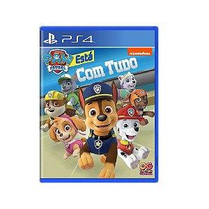 A Patrulha Canina Está com Tudo - Usado - PS4