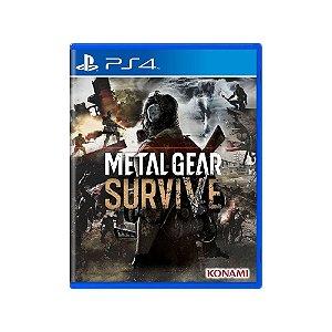 Metal Gear Survive - Usado - PS4