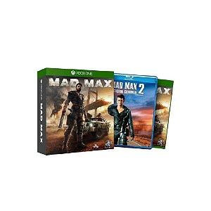 Mad Max + Filme - Usado - Xbox One