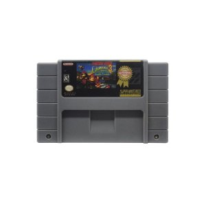 Donkey Kong Country 3 Dixie Kong's Double Trouble Usado SNES