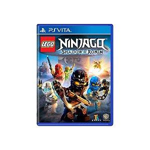 LEGO Ninjago Shadow of Ronin - Usado - PS Vita