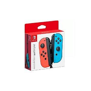 Controle Joy-Con Vermelho e Azul - Switch