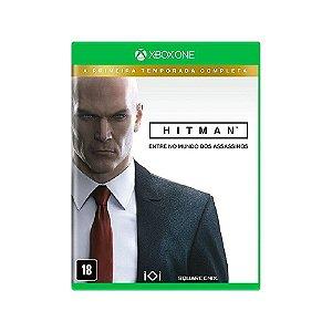 Hitman A Primeira Temporada Completa - Usado - Xbox One