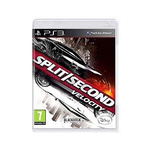 Split/Second Velocity - Usado - PS3