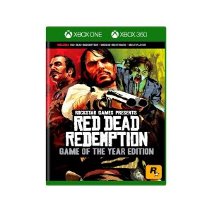 Red Dead Redemption GOTY - Usado - Xbox One e Xbox 360