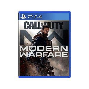 Call of Duty Modern Warfare - Usado - PS4