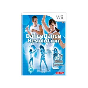 Dance Dance Revolution + Tapete + Balance Board - Usado Wii