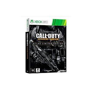Call of Duty Advanced Warfare Atlas Limited Edition - Usado - Xbox 360