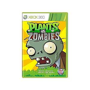 Plants vs. Zombies - Usado - Xbox 360