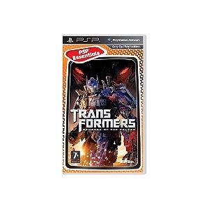 Transformers Revenge of the Fallen - Usado - PSP