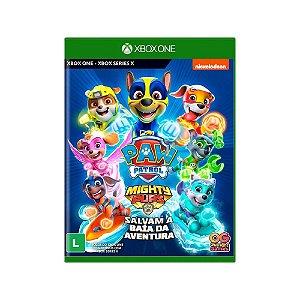 Patrulha Canina Super Filhotes Salvam a Baía da Aventura - Xbox
