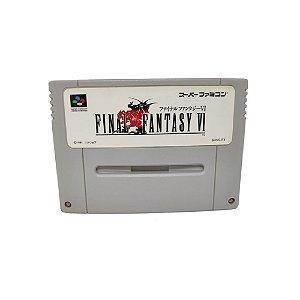 Final Fantasy VI - Usado - Super Famicom