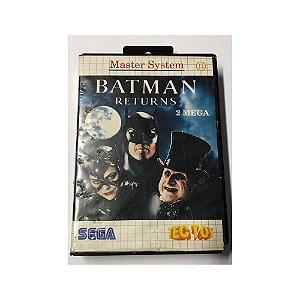 Batman Returns - Usado - Master System