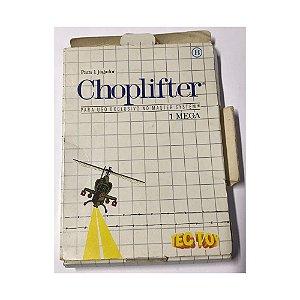 Choplifter - Usado - Master System