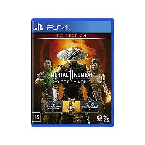 Mortal Kombat 11 (Aftermath Kollection) - Usado - PS4