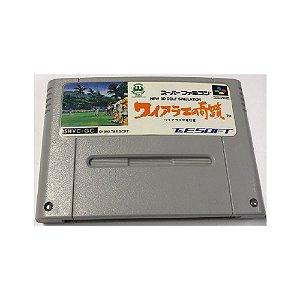New 3d Golf Simulation - Usado - Super Famicom