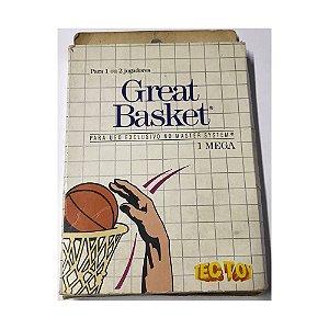 Great Basket - Usado - Master System