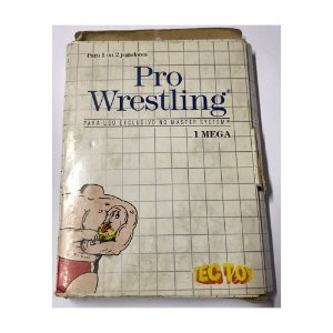 Pro Wrestling - Usado - Master System