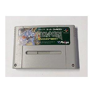 Prince Of Persia - Usado - Super Famicom