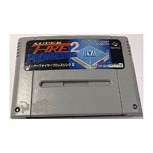 Super Fire Pro Wrestling 2 - Usado - Super Famicom