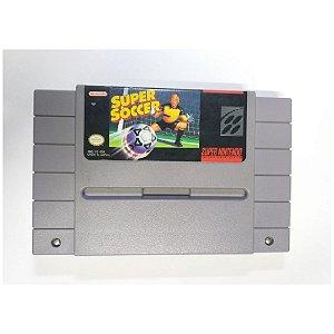 Super Soccer - Usado - Super Nintendo