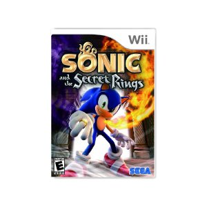 Sonic and The Secret Rings - Usado - Wii