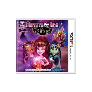 Monster High 13 Wishes - Usado - 3DS