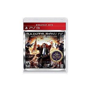 Saints Row IV National Treasure Edition - PS3