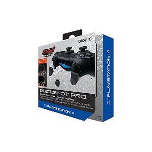 Gatilhos De Controle Quickshot Pro Bionik - PS4