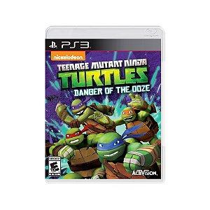 Teenage Mutant Ninja Turtles Danger of the Ooze Usado PS3