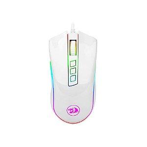 Mouse Gamer Redragon Cobra Lunar White RGB - M711
