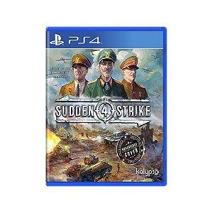 Sudden Strike 4 - Usado - PS4