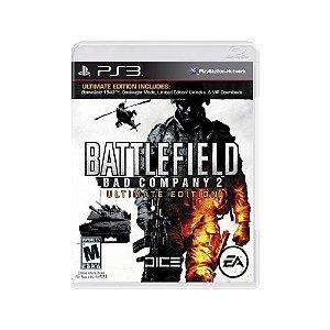 Battlefield Bad Company 2 (Ultimate Edition) - Usado - PS3