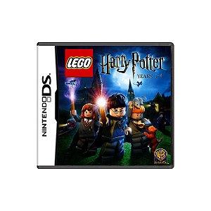 LEGO Harry Potter Years 1-4 (Sem Capa) - Usado - DS