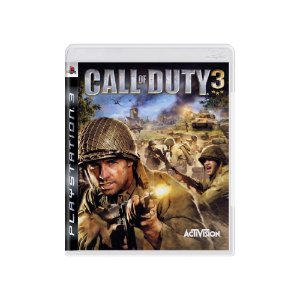 Call of Duty 3 - Usado - PS3
