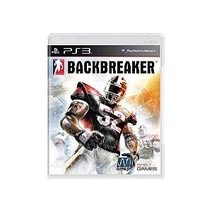 Backbreaker - Usado - PS3