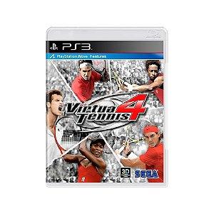 Virtua Tennis 4 - Usado - PS3