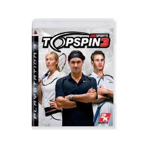Top Spin 3 - Usado - PS3