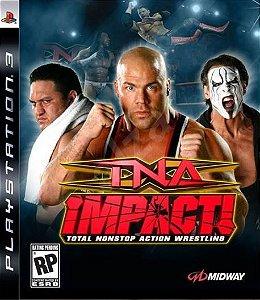 TNA Impact - |Seminovo| - PS3