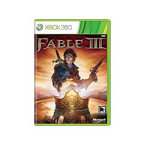 Fable III - Usado - Xbox 360