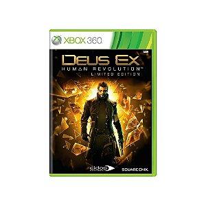Deus Ex: Human Revolution - Usado - Xbox 360